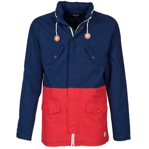 Textiel Heren Wind jackets Nixon PI Marine / Rood