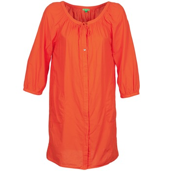 Textiel Dames Korte jurken Bensimon FOURTY OranJe