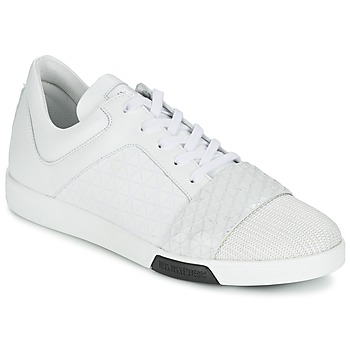 Schoenen Heren Lage sneakers Bikkembergs OLYMPIAN LEATHER Wit