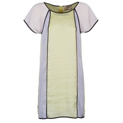 Textiel Dames Korte jurken Chipie FREGENAL Geel / Grijs