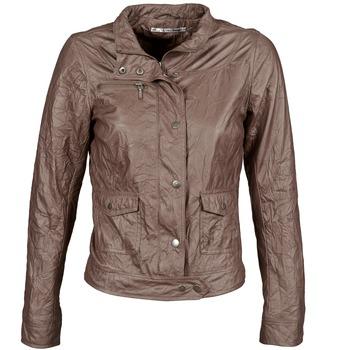 Textiel Dames Leren jas / kunstleren jas DDP GIRUP Bruin