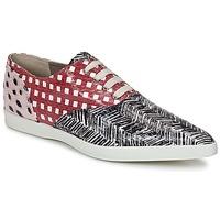 Schoenen Dames Lage sneakers Marc Jacobs Elap Zwart / Wit / Rood