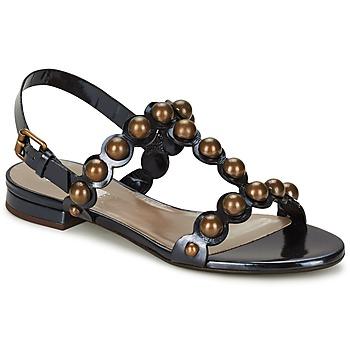 Schoenen Dames Sandalen / Open schoenen Marc Jacobs Vegetal Zwart