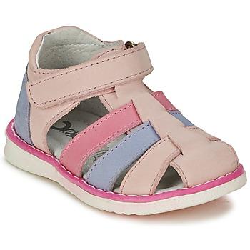 Schoenen Meisjes Sandalen / Open schoenen Citrouille et Compagnie FRINOUI Roze / Blauw / Clair / Fushia