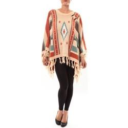 Textiel Dames Truien Barcelona Moda Poncho 72473601 beige Beige