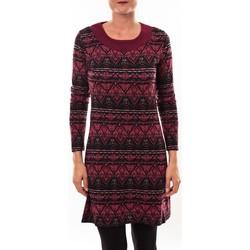 Textiel Dames Tunieken Barcelona Moda Robe pull 71565011 bordeaux Rood