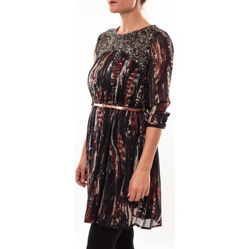 Textiel Dames Korte jurken Barcelona Moda Robe 71525014 noir Zwart