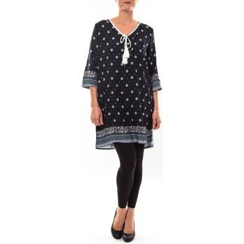 Textiel Dames Korte jurken Nina Rocca Robe G-0189 marine Blauw
