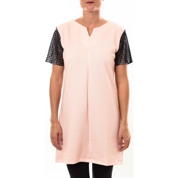 Textiel Dames Korte jurken Coquelicot Robe 15207/208 rose Roze