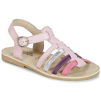 Schoenen Meisjes Sandalen / Open schoenen Citrouille et Compagnie JASMA Roze / Violet