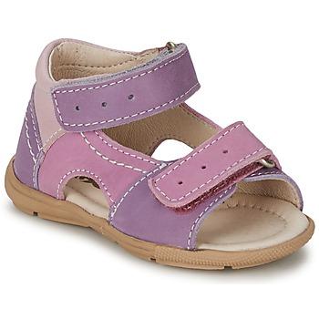 Schoenen Meisjes Sandalen / Open schoenen Citrouille et Compagnie KIMMY G Lila / Violet / Nude