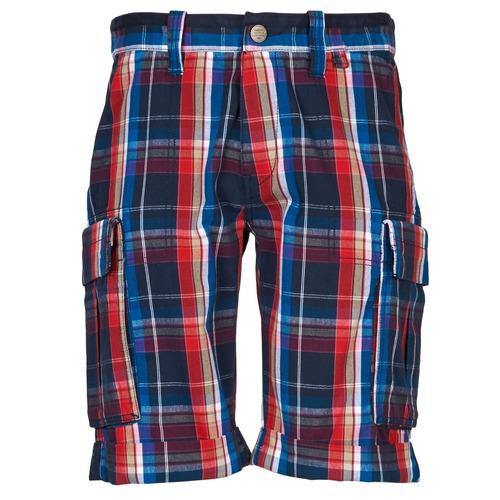 Textiel Heren Korte broeken / Bermuda's Oxbow TAKAROA Marine / Rood
