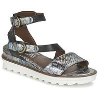 Schoenen Dames Sandalen / Open schoenen Mjus MIAMI Zwart