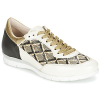 Schoenen Dames Lage sneakers Mjus FORCE Zwart / Wit / Goud