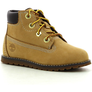 Schoenen Jongens Laarzen Timberland Pokey Pine 6In Boot Wheat