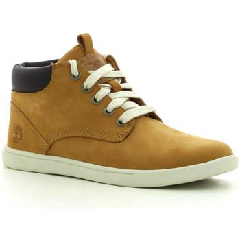 Schoenen Jongens Hoge sneakers Timberland Grvtn Ek Ltr Chk Whe Wheat