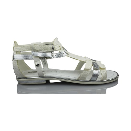 Schoenen Meisjes Sandalen / Open schoenen Geox GIGLIO GBK BLANCO