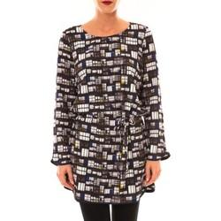 Textiel Dames Korte jurken Little Marcel Robe Rubane noir Zwart