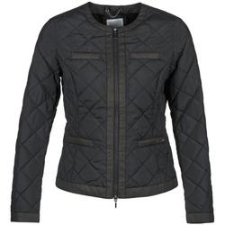 Textiel Dames Dons gevoerde jassen Geox ADAMI Zwart