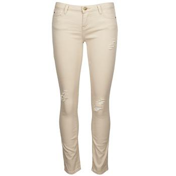 Textiel Dames Skinny jeans Acquaverde SCARLETT Beige
