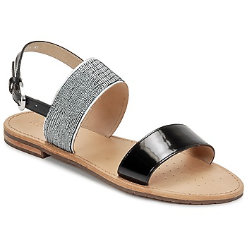 Schoenen Dames Sandalen / Open schoenen Geox SOZY A Zwart