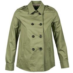 Textiel Dames Wind jackets Benetton TUNALI Kaki