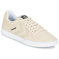 Schoenen Lage sneakers Hummel HML STADIL CANVAS LO Creme
