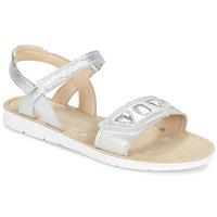 Schoenen Meisjes Sandalen / Open schoenen Clarks MIMOMAGIC JUNIOR Zilver