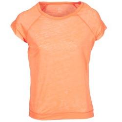 Textiel Dames T-shirts korte mouwen Majestic 2105 Oranje / Fluo