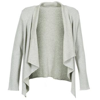 Textiel Dames Vesten / Cardigans Majestic 4003 Grijs