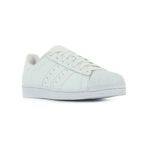 Schoenen Dames Lage sneakers adidas Originals Superstar Foundation blanc