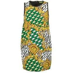 Textiel Dames Korte jurken Versace Jeans NDM909 BIS Zwart / Multi