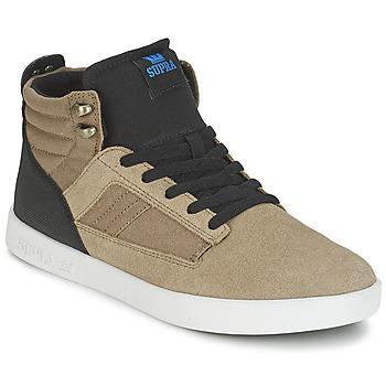 Schoenen Heren Hoge sneakers Supra BANDIT Bruin / Zwart