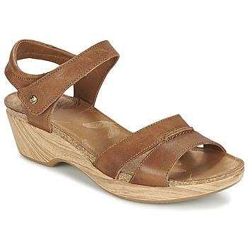 Schoenen Dames Sandalen / Open schoenen Panama Jack LARISA Bruin