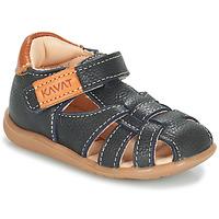 Schoenen Jongens Sandalen / Open schoenen Kavat RULLSAND Blauw / Marine