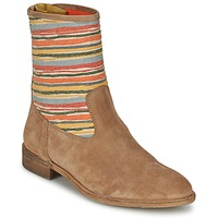 Schoenen Dames Laarzen Goldmud COLON Taupe / Multicolour