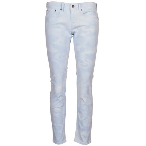 Textiel Dames 5 zakken broeken Roxy SUNTRIPPERS TIE-DYE Blauw