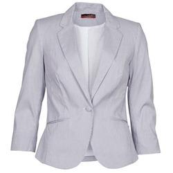 Textiel Dames Jasjes / Blazers La City VST1D6 Grijs