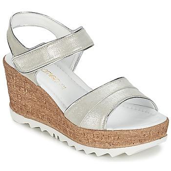 Schoenen Dames Sandalen / Open schoenen Samoa MOJILA Grijs / Wit