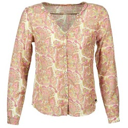 Textiel Dames Overhemden DDP GARDENIA Roze / Groen