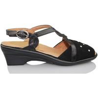 Schoenen Dames Sandalen / Open schoenen Calzamedi ORTOPEDICA NEGRO