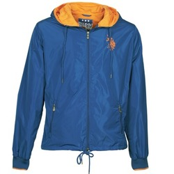 Textiel Heren Wind jackets U.S Polo Assn. EIGHTEEN 90 Blauw / OranJe