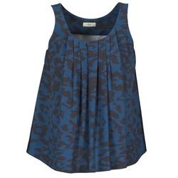 Textiel Dames Mouwloze tops Lola CUBA Blauw / Zwart
