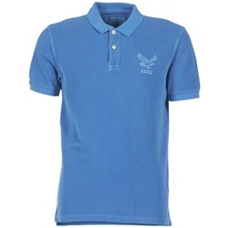 Textiel Heren Polo's korte mouwen Aigle BELAQUA Blauw
