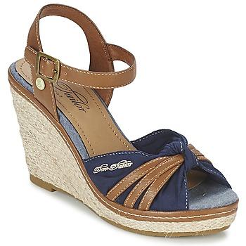 Schoenen Dames Sandalen / Open schoenen Tom Tailor BASTIOL Marine