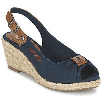 Schoenen Dames Sandalen / Open schoenen Tom Tailor FARALO Marine