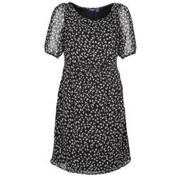 Textiel Dames Korte jurken Mexx 13LW130 Zwart / Wit
