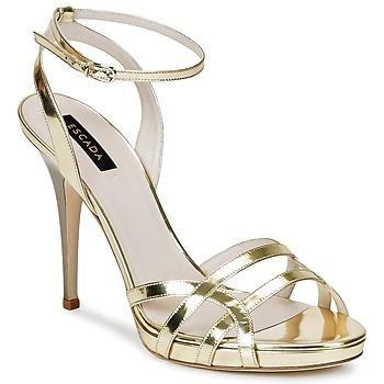 Schoenen Dames Sandalen / Open schoenen Escada AS683 Goud