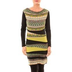 Textiel Dames Korte jurken Bamboo's Fashion Robe BW671 vert Groen
