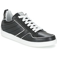 Schoenen Dames Lage sneakers Kenzo K-FLY Zwart / Zilver